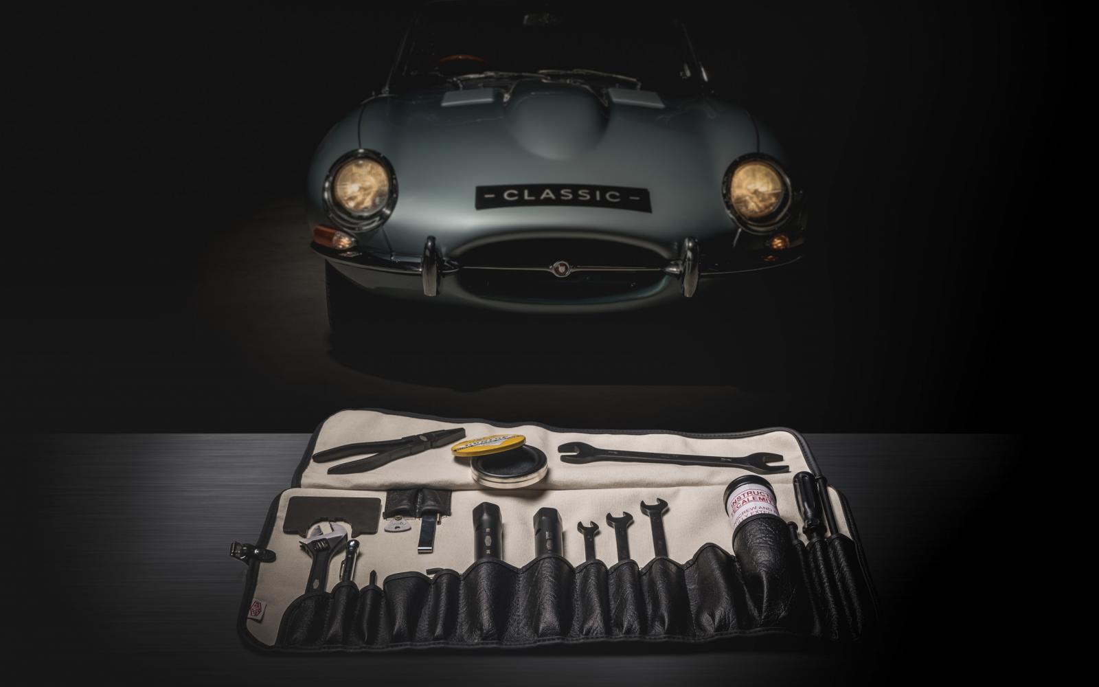 Zo wordt sleutelen aan je klassieke Jaguar nóg leuker