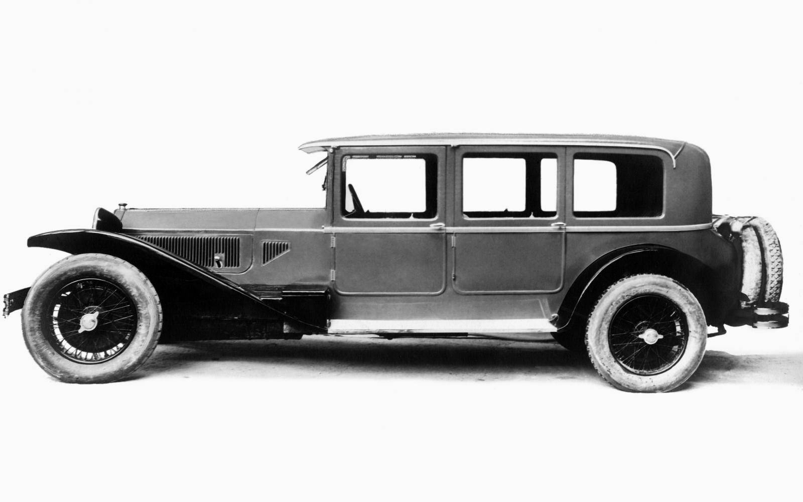 Without the hundred-year-old Lancia Lambda, the modern car would not have existed