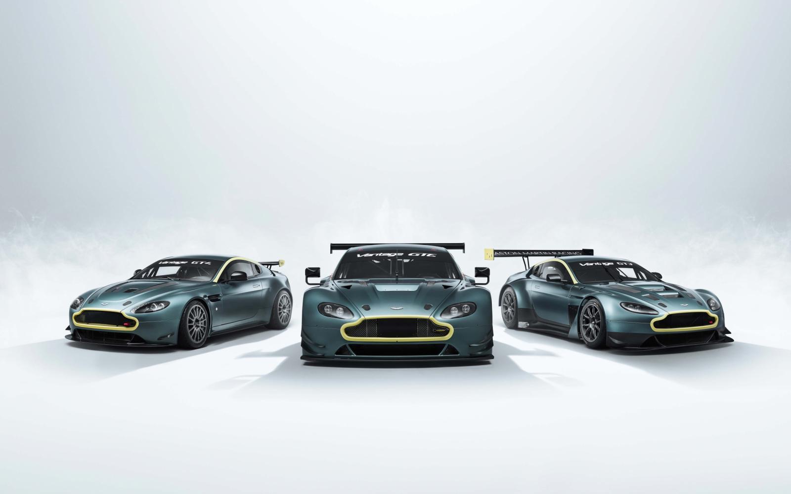 Aston Martin Vantage Legacy Collection verheft uitmelken tot kunst