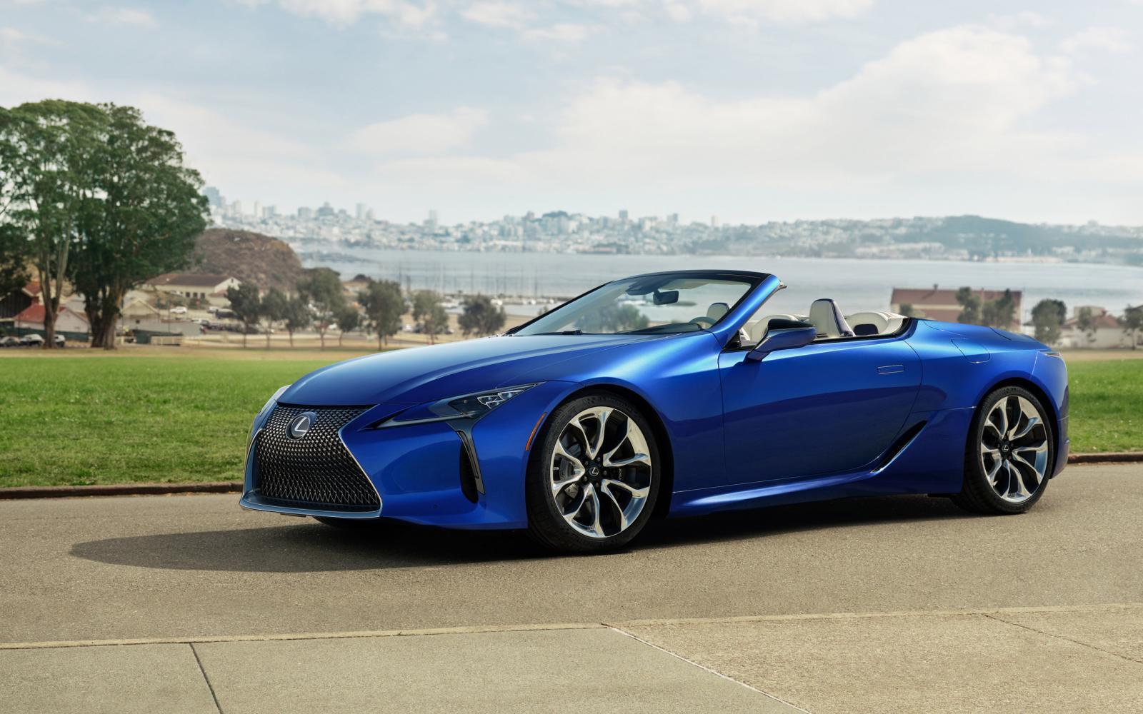 Zie je nou wel: de Lexus LC 500 Convertible is echt