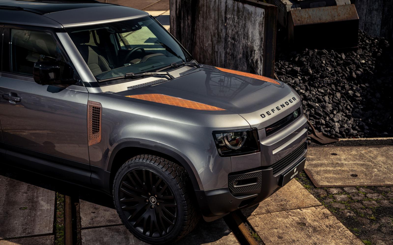Roest de nieuwe Land Rover Defender nu al? Ja, maar dat is met opzet