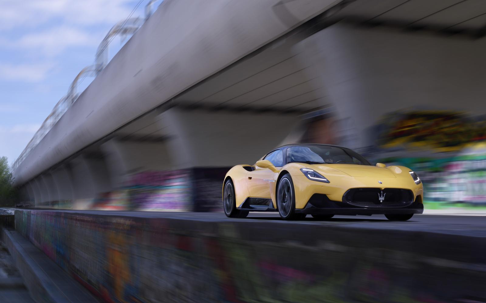 Teste Maserati MC20: finalmente outro carro que a Porsche teme