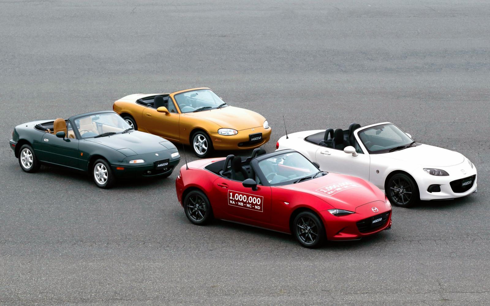 Waarom staat de Mazda MX-5 in het Guinness Book of World Records?