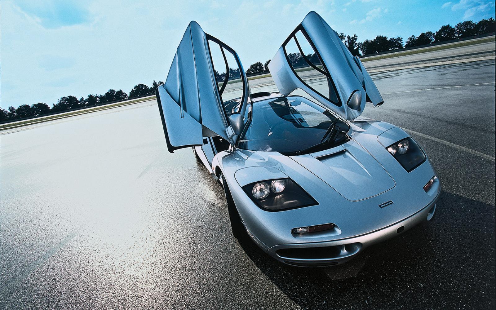 Met de McLaren F1 naar een top van 391 km/h