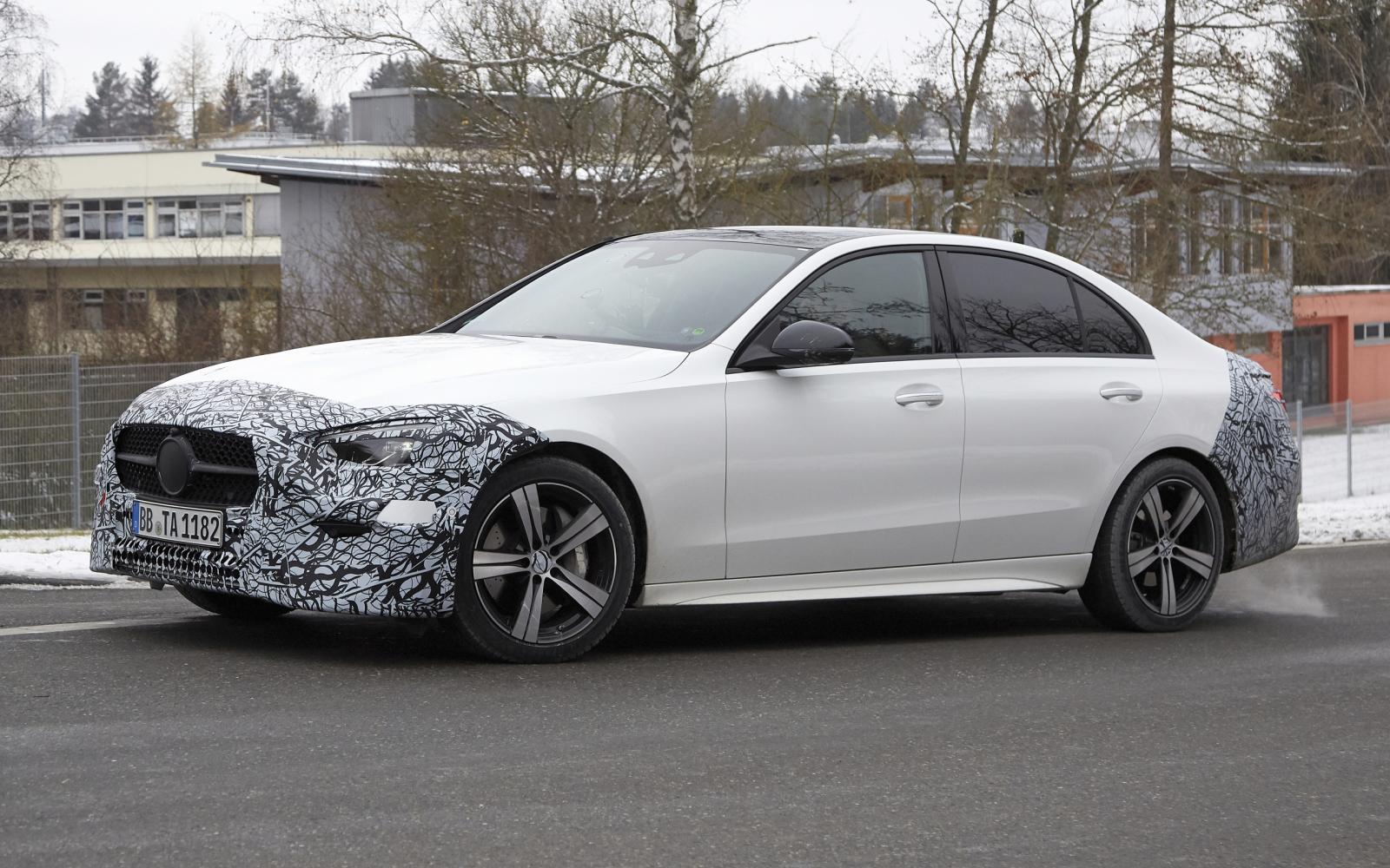Nieuwe Mercedes C-klasse wordt een S-klasse in het klein
