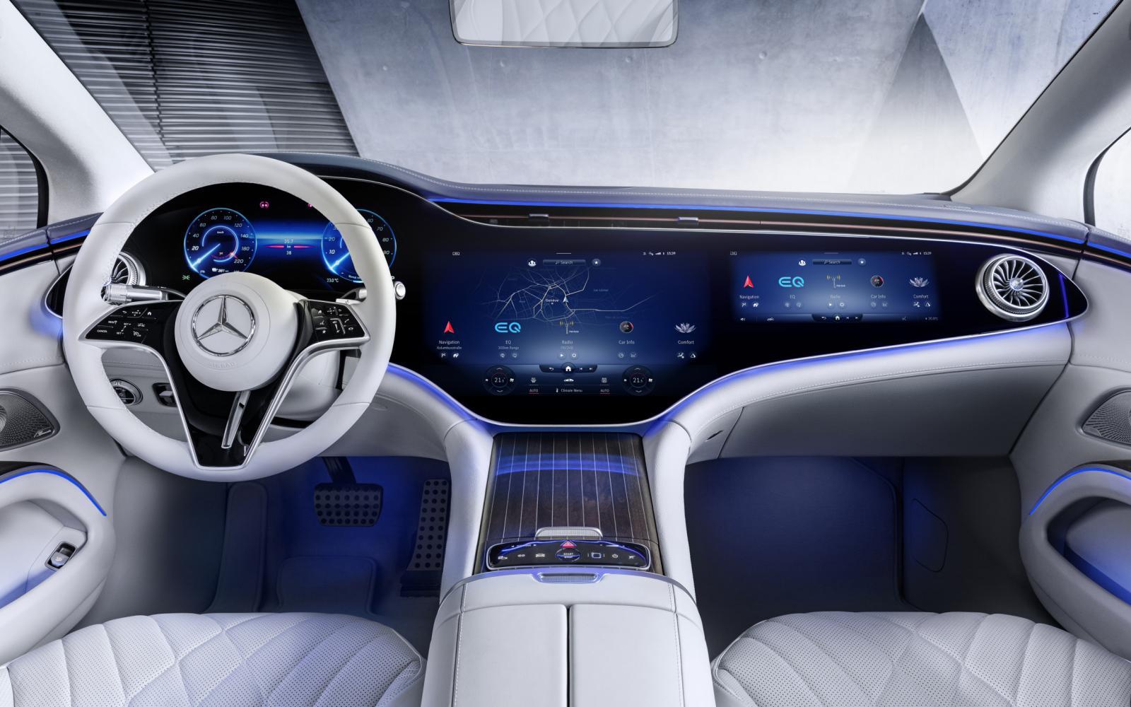 7 weetjes over de Mercedes EQS: hij klinkt als een vulkaanuitbarsting