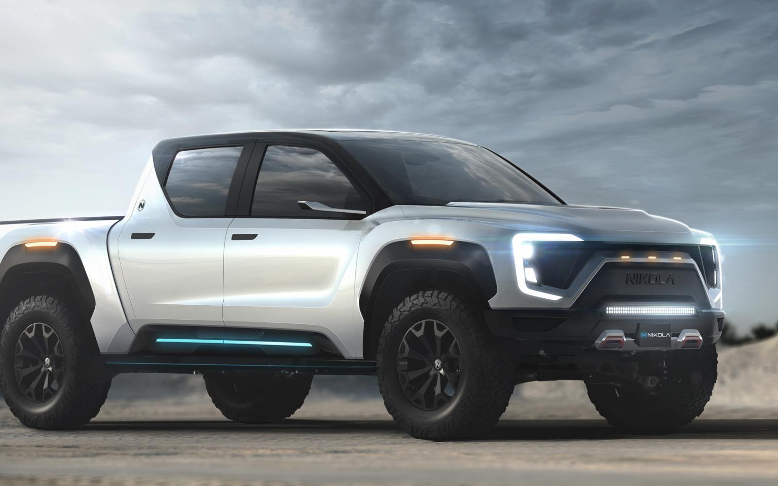 De Nikola Badger is de zoveelste elektrische pick-up truck