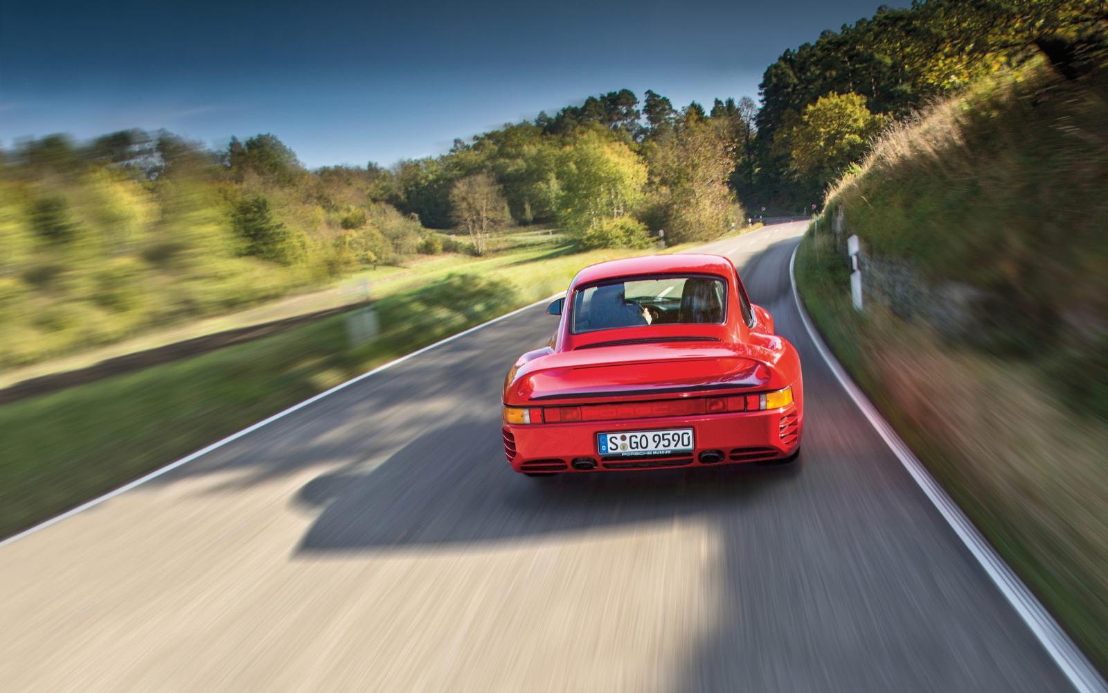 Waarom de roemruchte Porsche 959 zijn tijd zo ver vooruit was