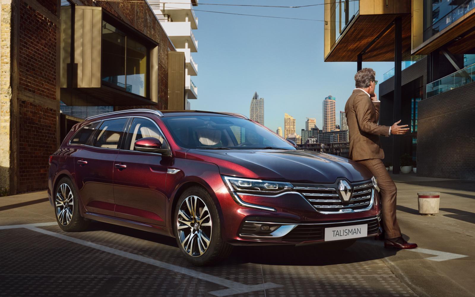 Wat is er nieuw aan de vernieuwde Renault Talisman?