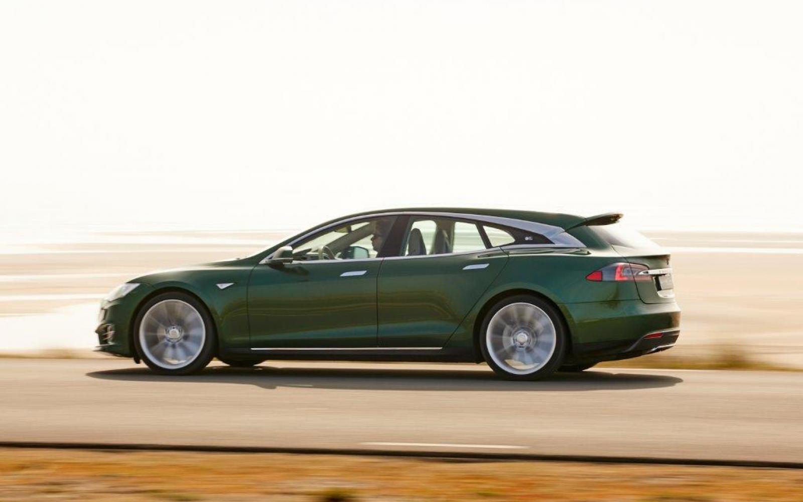 Tesla Model S Shooting Brake duikt nu al op als occasion