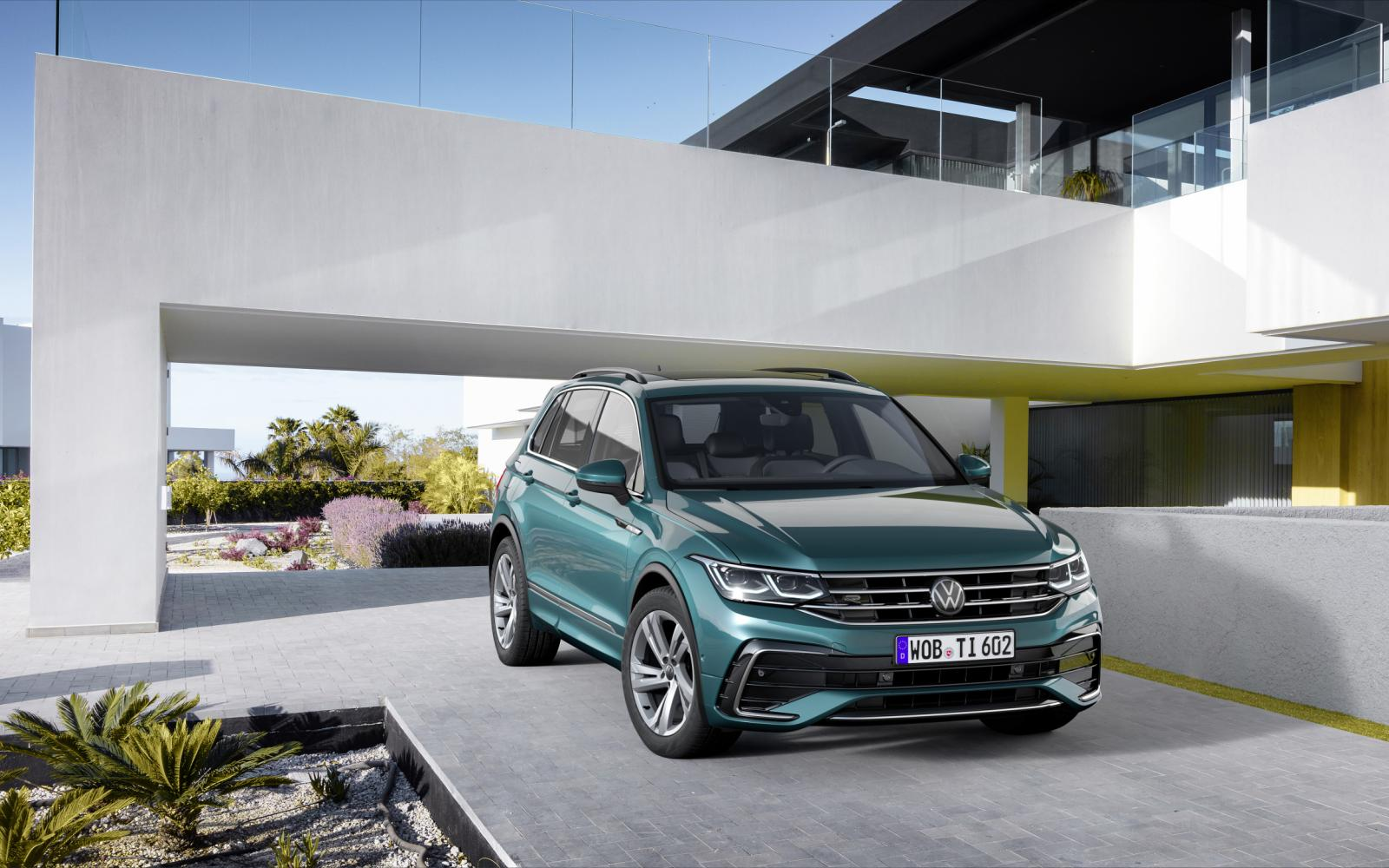 Opgefriste Volkswagen Tiguan (2020) krijgt hybride techniek
