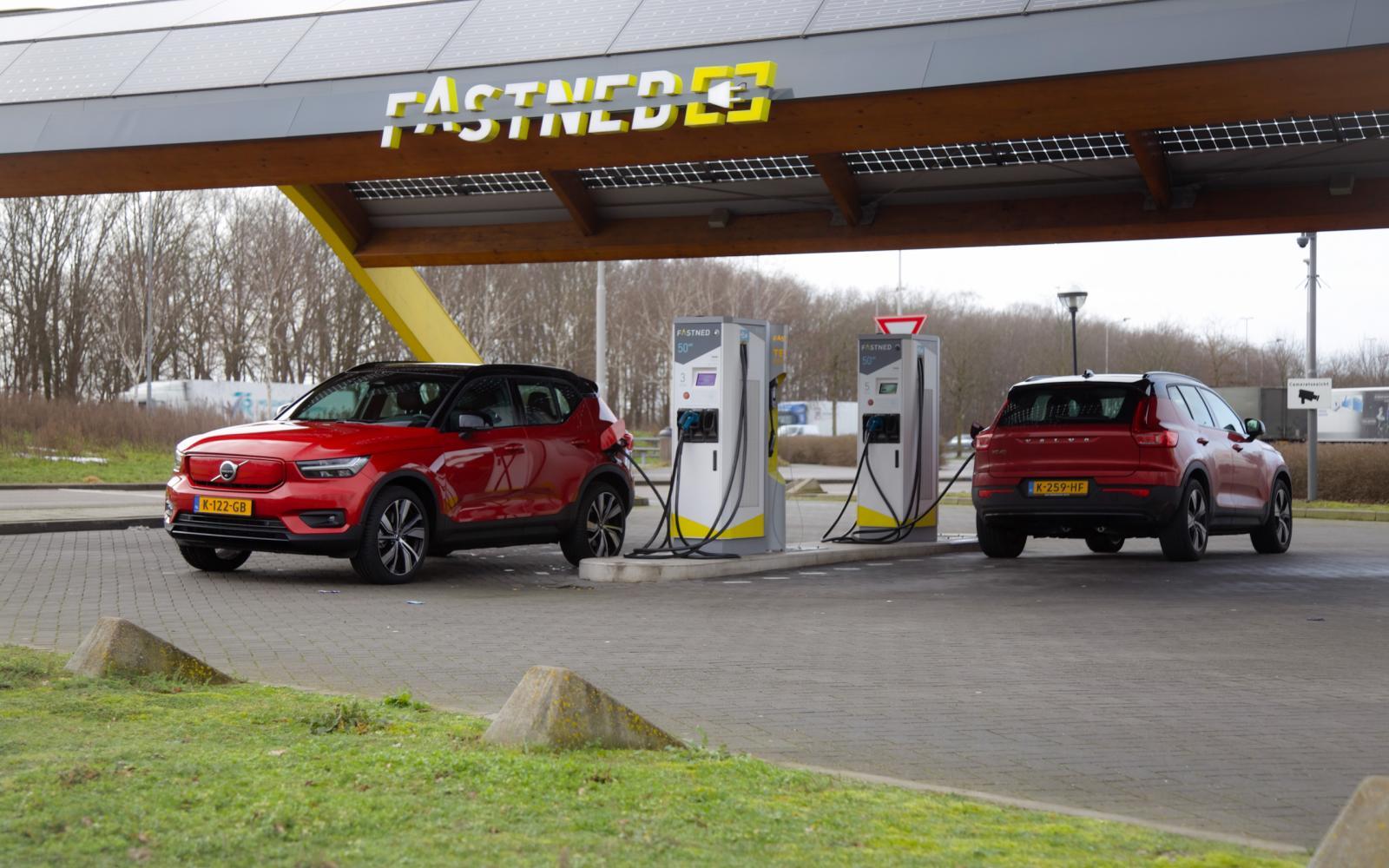 Elektrische Volvo XC40 Recharge: actieradius gemeten bij 130 en 100 km/h
