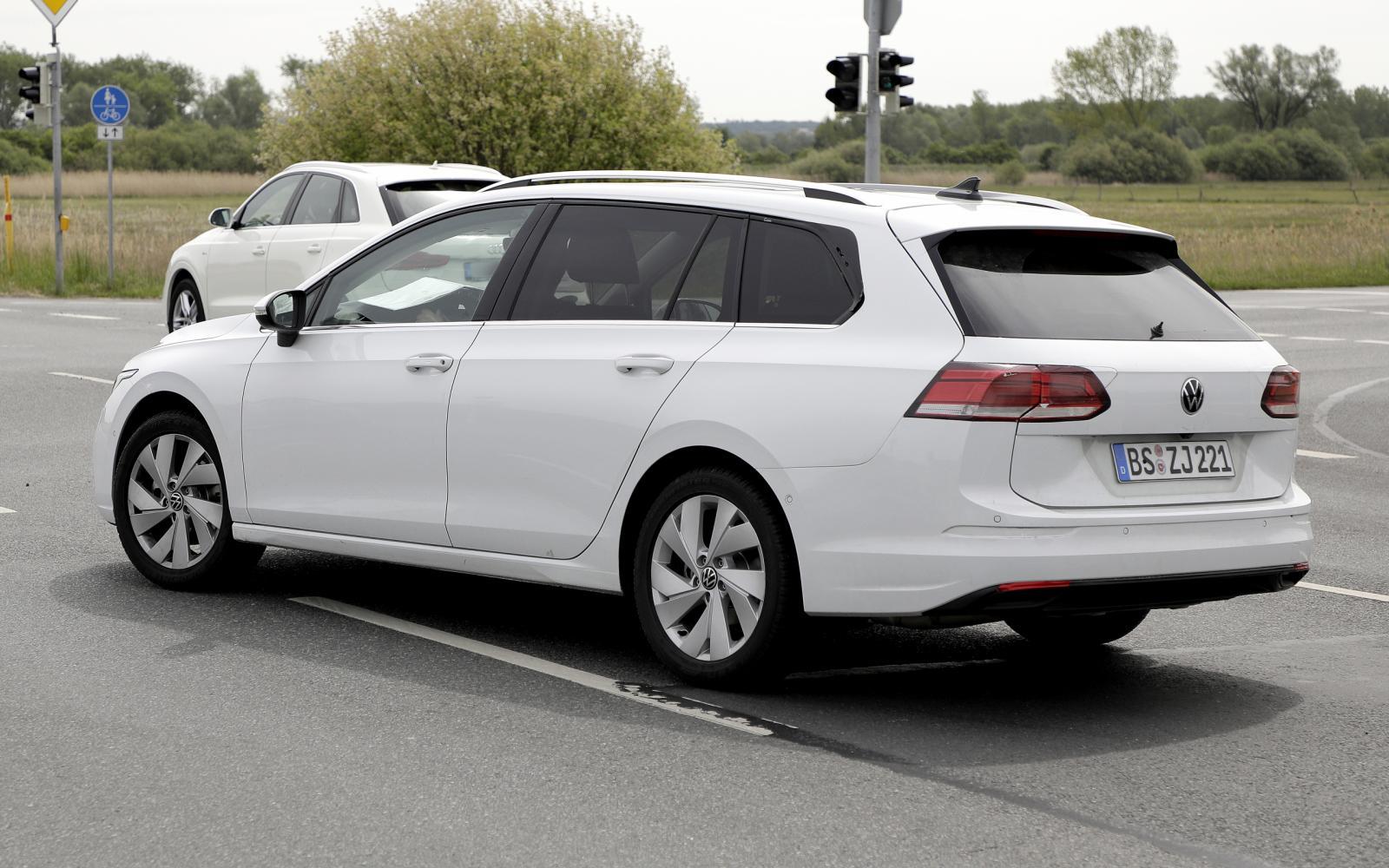 Volkswagen Golf Variant ziet eruit ... als een Golf Variant