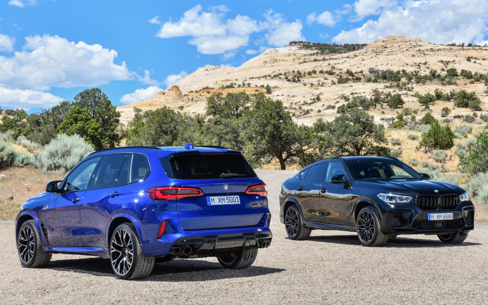 Test BMW X5 M: anderhalve meter afstand