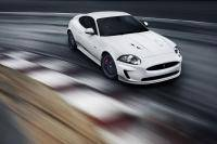 Jaguar XKR aan de Speed