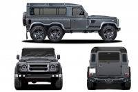 Kahn Defender Flying Huntsman 6x6