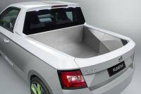 Skoda-studenten bouwen Fabia pick-up