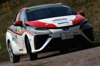 Toyota's waterstofauto maakt furore in WRC-rally
