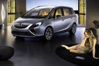 Opel Zafira Concept in vol ornaat