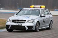 Nieuwe Mercedes C 63 AMG debuteert in F1 als ´Medical Car´
