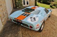 Superformance Ford GT40 in Gulf-livery kan van jou zijn