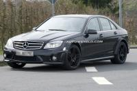 Spyshots Mercedes C 63 AMG Black Series - Test Mercedes C 63 AMG Black Series: lekker puh, BMW!