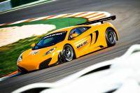 Autonieuws McLaren MP4-12C GT3 - Test McLaren MP4-12C GT3 is ready to go!