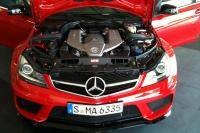 Eerste foto´s Mercedes C 63 AMG Black Series Coupe