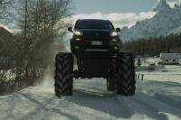 Cool! Fiat Panda Monster Truck