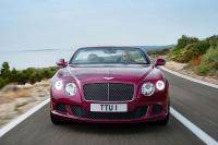 Bentley Continental GTC Speed gooit de kap open