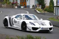 Design Porsche 918 Spyder definitief