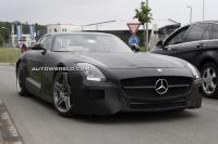 Spyshots Mercedes-Benz SLS AMG Black Series - Test Laatste loodjes Mercedes SLS AMG Black Series