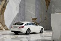 Mercedes CLS Shooting Brake gelekt