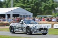 Jaguar F-type geeft acte de presénce op Goodwood