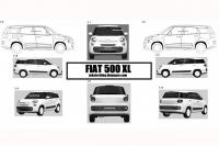 Autonieuws Fiat 500XL - Test Is dit de Fiat 500XL?