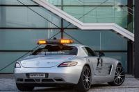 Mercedes SLS AMG Safety Car van GT-update voorzien