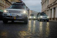 Range Rover Hybrid's voltooien extreme tocht
