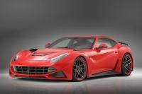 Spectaculaire widebody Ferrari F12berlinetta van Notivec Rosso