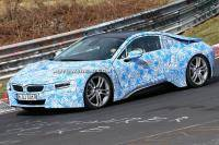 BMW i8 wordt gefinetuned