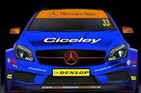 Mercedes A-klasse maakt opwachting in BTCC
