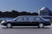 Cadillac DTS Limousine voor President Bush