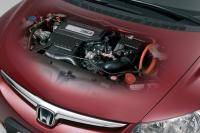 In detail: Honda Civic Hybrid