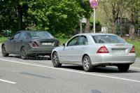 Side by side: Mercedes C-klasse