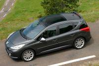 Peugeot 207 SW RC: sportief getinte station