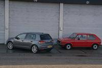 Volkswagen Golf I vs. Golf VI
