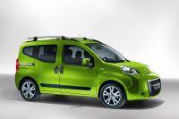 Vijfpersoons Fiat Qubo: kleine MPV