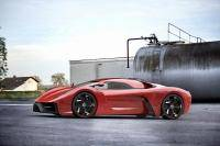 Project F is supercar van Ugur Sahin Design
