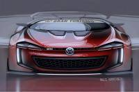 Volkswagen GTI Roadster Vision Gran Turismo onthuld