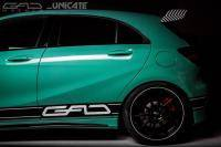 A 45 AMG opgepompt door GAD Motors