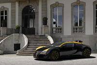 Grand Sport Vitesse '1 of 1' in Bugatti's huisstijlkleuren